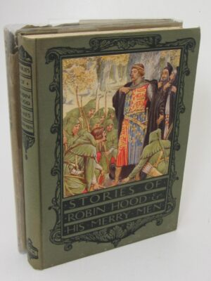 Robin Hood and His Merry Men. Illustrations by Walter Crane (1924) by Henry Gilbert
