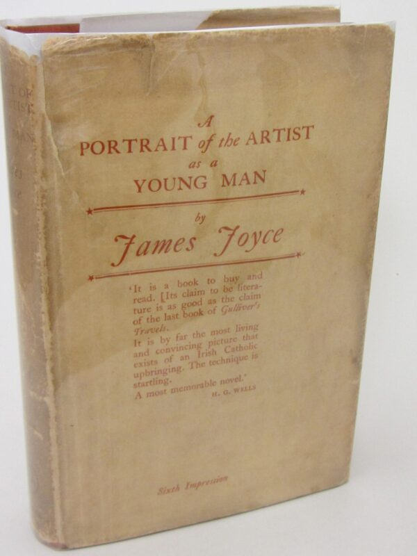 A Portrait of the Artist as a Young Man. Sixth Impression (1928) by James Joyce