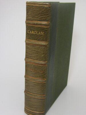 Carolan.The Life Times And Music Of An Irish Harper (1958) by Donal O'Sullivan