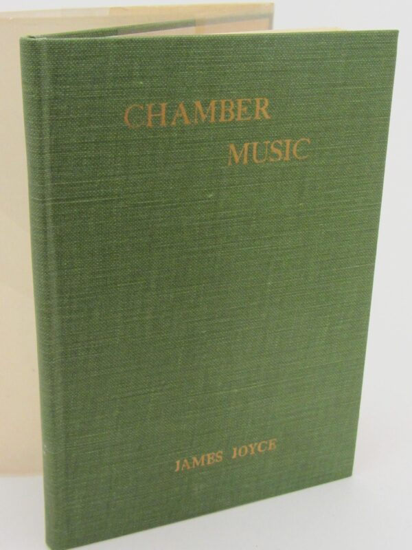 Chamber Music. First US Edition (1918) by James Joyce