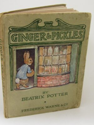 Ginger & Pickles. First Edition (1909) by Beatrix Potter