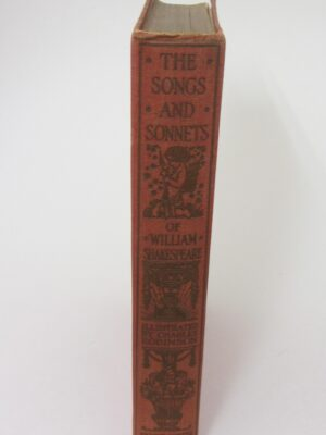 The Songs And Sonnets Of William Shakespeare (1917) by William Shakespeare