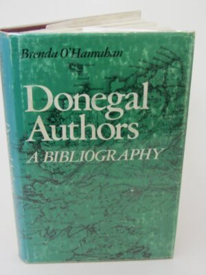 Donegal Authors.  A Bibliography (1982) by Brenda O'Hanrahan