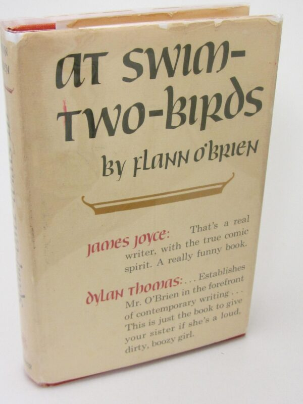 At Swim Two Birds. Second US Edition (1966) by Flann O'Brien
