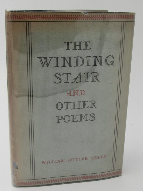 The Winding Stair and Other Poems (1933) by W.B. Yeats