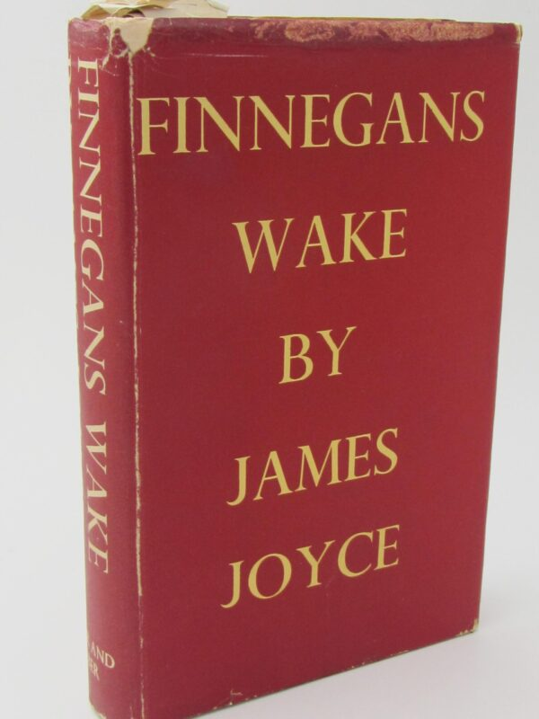 Finnegans Wake. First Edition (1939) by James Joyce