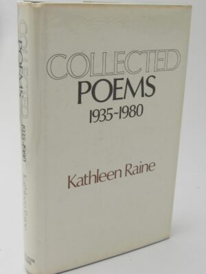 Collected Poems 1935-1980. Author Signed (1981) by Kathleen Raine