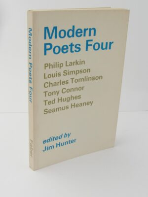 Modern Poets Four. Signed Copy (1979) by Jim Hunter