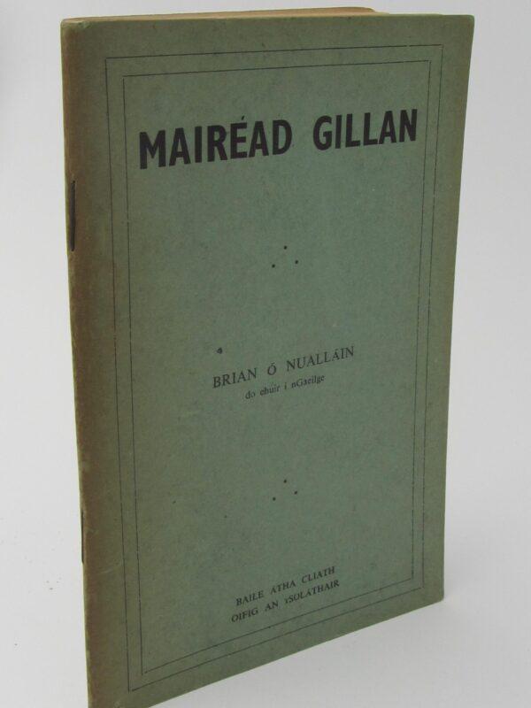 Mairead Gillan (1953) by Brian O'Nuallain