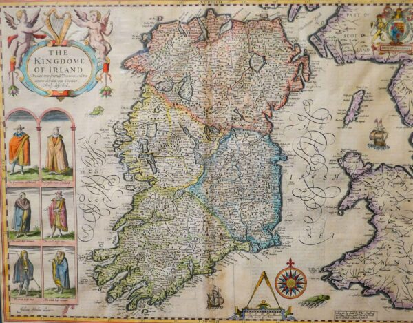 The Kingdom of Ireland; Provinces of Ulster