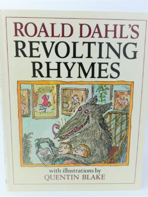 Roald Dahl's Revolting Rhymes. Signed By The Author (1984) by Roald Dahl