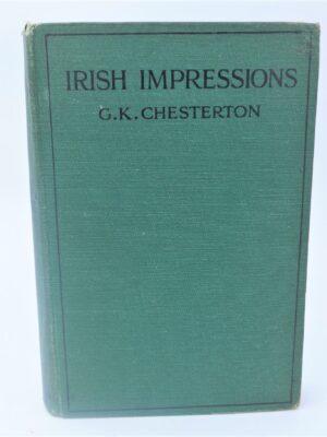 Irish Impressions (1919) by G.K. Chesterton