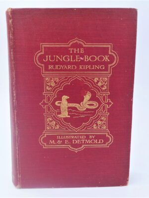 The Jungle Book.  Illustrated by M. & E. Detmold (1922) by Rudyard Kipling