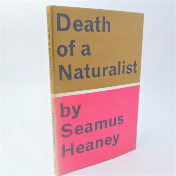 Death of a Naturalist. First Edition (1966) by Seamus Heaney