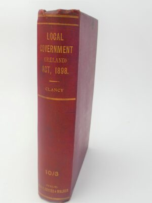 A Handbook of Local Government in Ireland (1899) by John J. Clancy