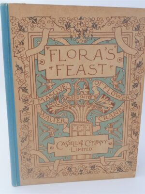 Flora's Feast.  A Masque of Flowers (1902) by Walter Crane