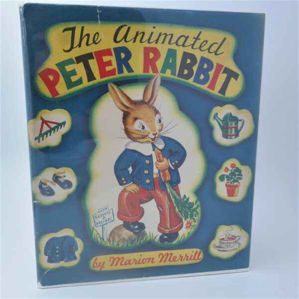 The Animated Peter Rabbit by Marion Merrill (1945) by Beatrix Potter