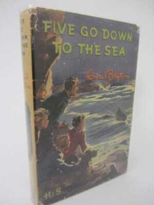Five Go Down to the Sea.  First Edition (1953) by Enid Blyton