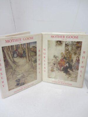 Mother Goose.  The Old Nursery Rhymes. Illustrated by Arthur Rackham by Arthur Rackham
