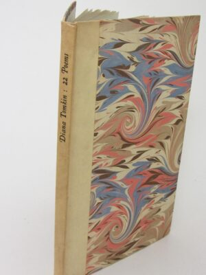 22 Poems. Limited Edition. Inscribed by Francis Stuart (1959) by Tomkin