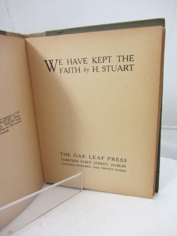 1923. First Edition by Francis Stuart