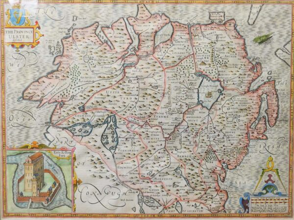 Munster & Connaught (1620) by John Speed