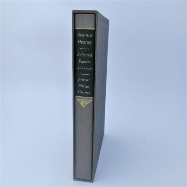 Selected Poems 1966-1987. Limited Signed Edition (1990) by Seamus Heaney