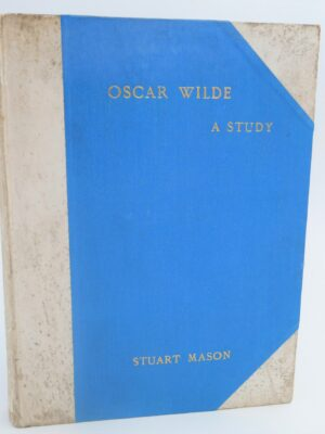 Oscar Wilde A Study. One of 50 Signed Copies (1905) by André Gide