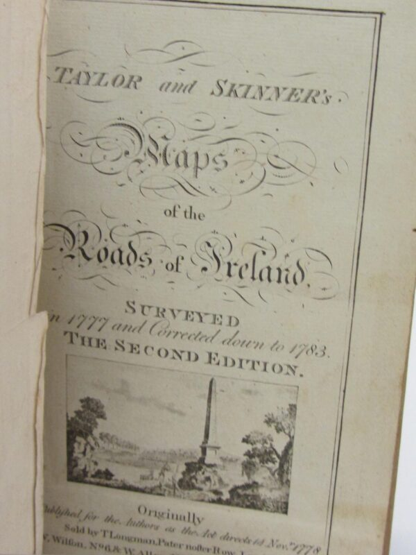 Surveyed 1777. Second Edition by George Taylor & Andrew Skinner
