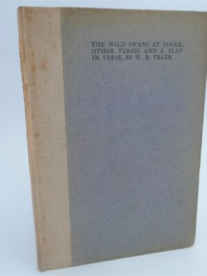The Wild Swans at Coole. Cuala Press (1917) by W.B. Yeats