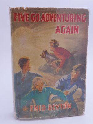 Five go Adventuring Again. by Enid Blyton