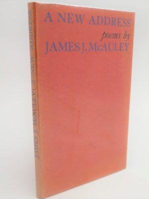 A New Address.  Poems (1965) by James McAuley