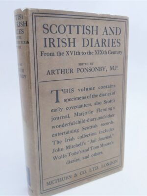 Scottish and Irish Diaries. From the 16th to the 19th Century (1927) by Arthur Ponsonby