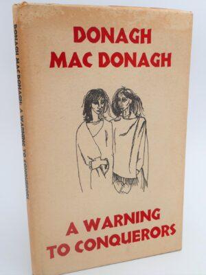 A Warning To Conquerors (1968) by Donagh MacDonagh