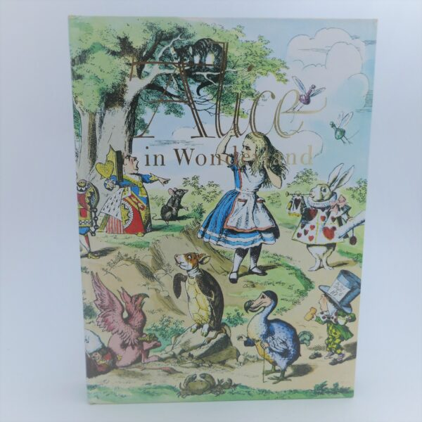 Alice in Wonderland & Through The Looking Glass. Illustrated Junior Library (1978) by Lewis Carroll