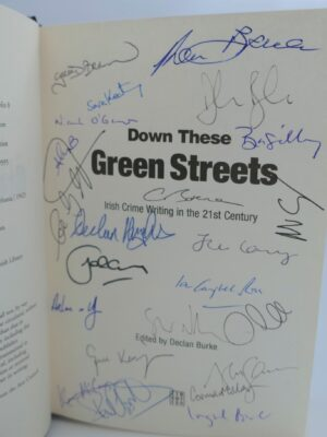 Down These Green Streets. Signed Copy (2011) by Declan Bourke