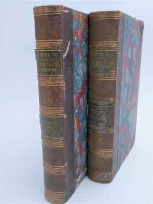 The History of Irish Periodical Literature. Two Volumes (1867) by R. R. Madden