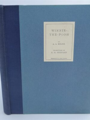 Winnie The Pooh.  Deluxe Signed Edition (1926) by A.A. Milne