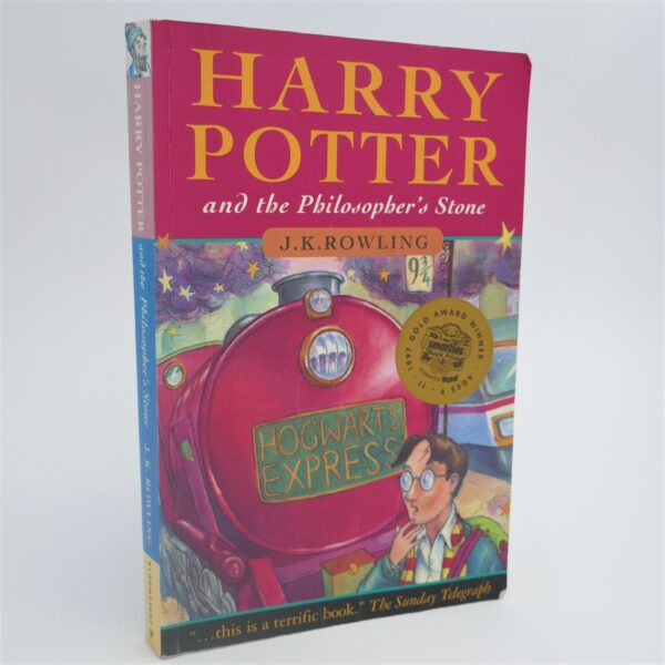 Harry Potter and The Philosopher's Stone. Author Signed (1997) by J.K. Rowling