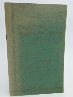 Collection of Historical Pictures Etc. Signed Copy (1944) by Douglas Hyde