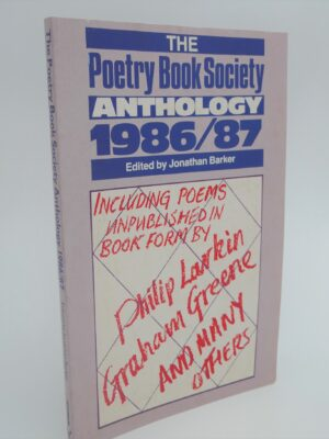 The Poetry Book Society Anthology 1986/87. Signed Copy by Seamus Heaney