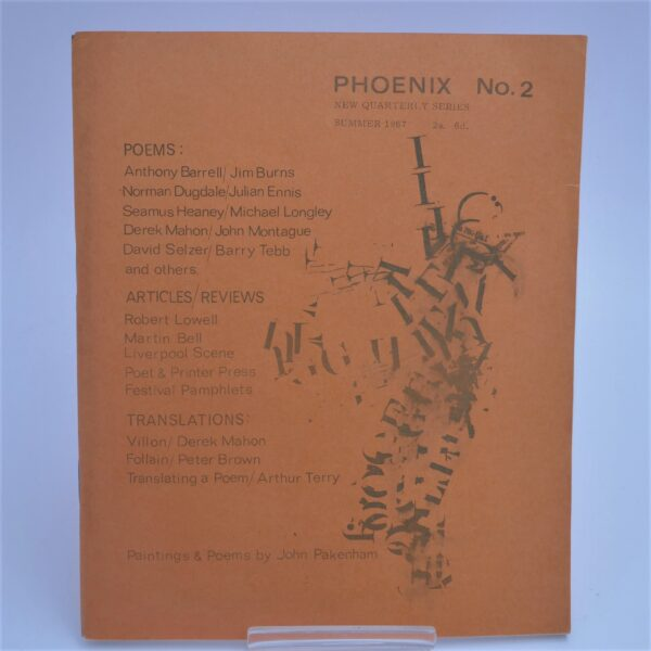 The Wife's Tale [in] Phoenix No. 2.  Signed Copy (1967) by Seamus Heaney