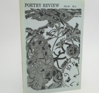 In Memoriam: Sean O'Riada [in] Poetry Review. Signed Copy (1978) by Seamus Heaney