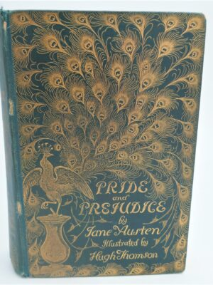 Pride and Prejudice. Illustrated by Hugh Thomson. First Edition (1894) by Jane Austen