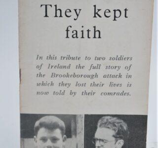 They Kept Faith (1957) by Roinn Eolais na Poblacta